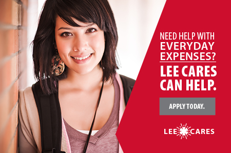 Lee Cares logo
