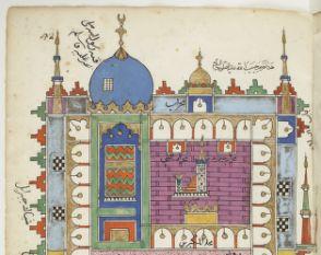 "Detail of ""Futuh al-haramayn"""