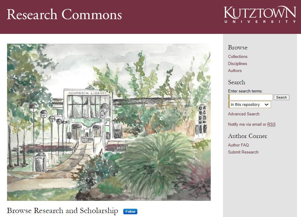 K U R C Homepage screen shot