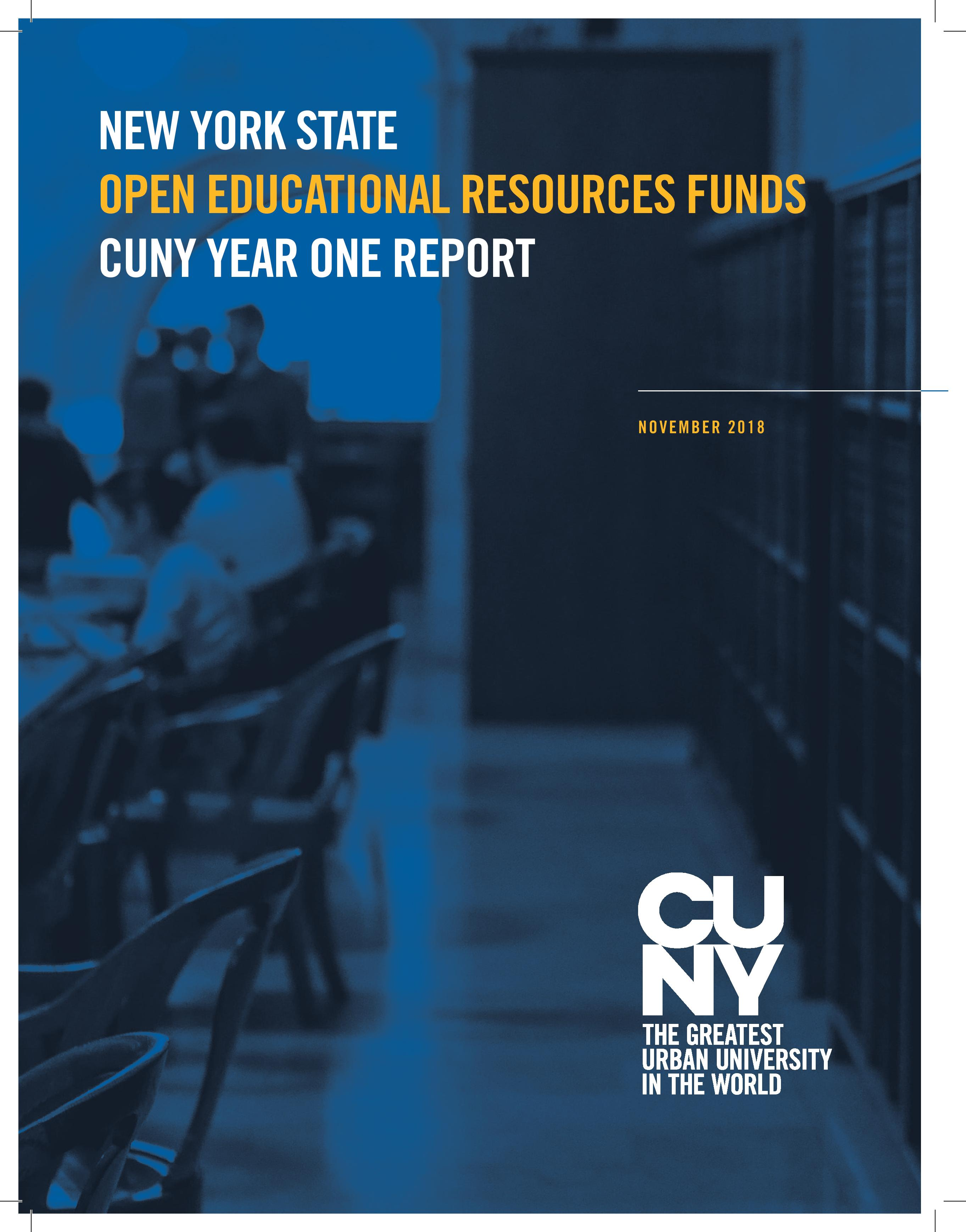 CUNY Report page 1