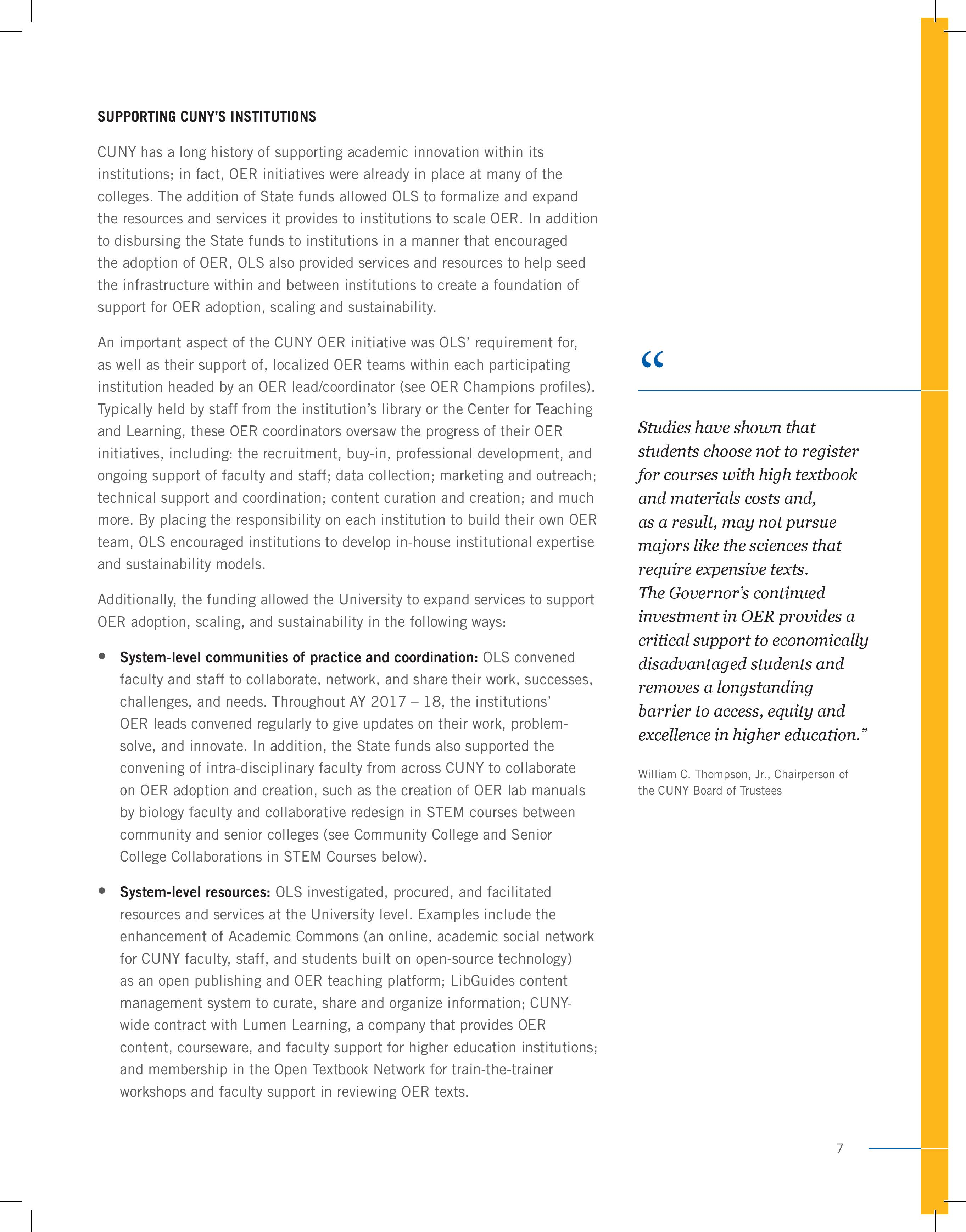 CUNY Report page 7
