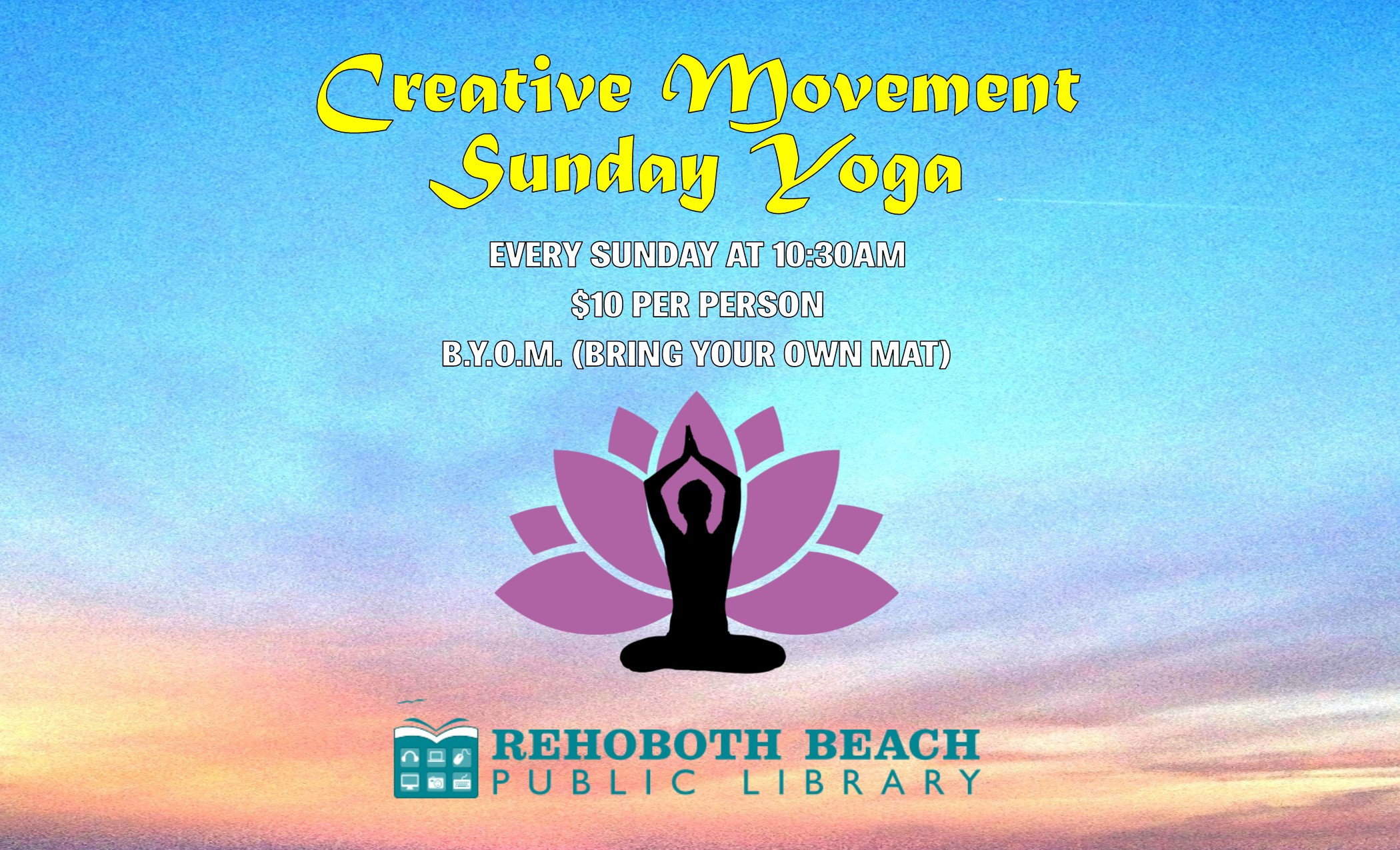Creative Movement Sunday Yoga