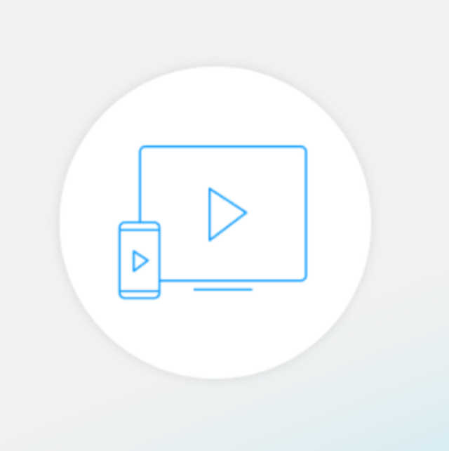 Screen share icon in MirrorOp App