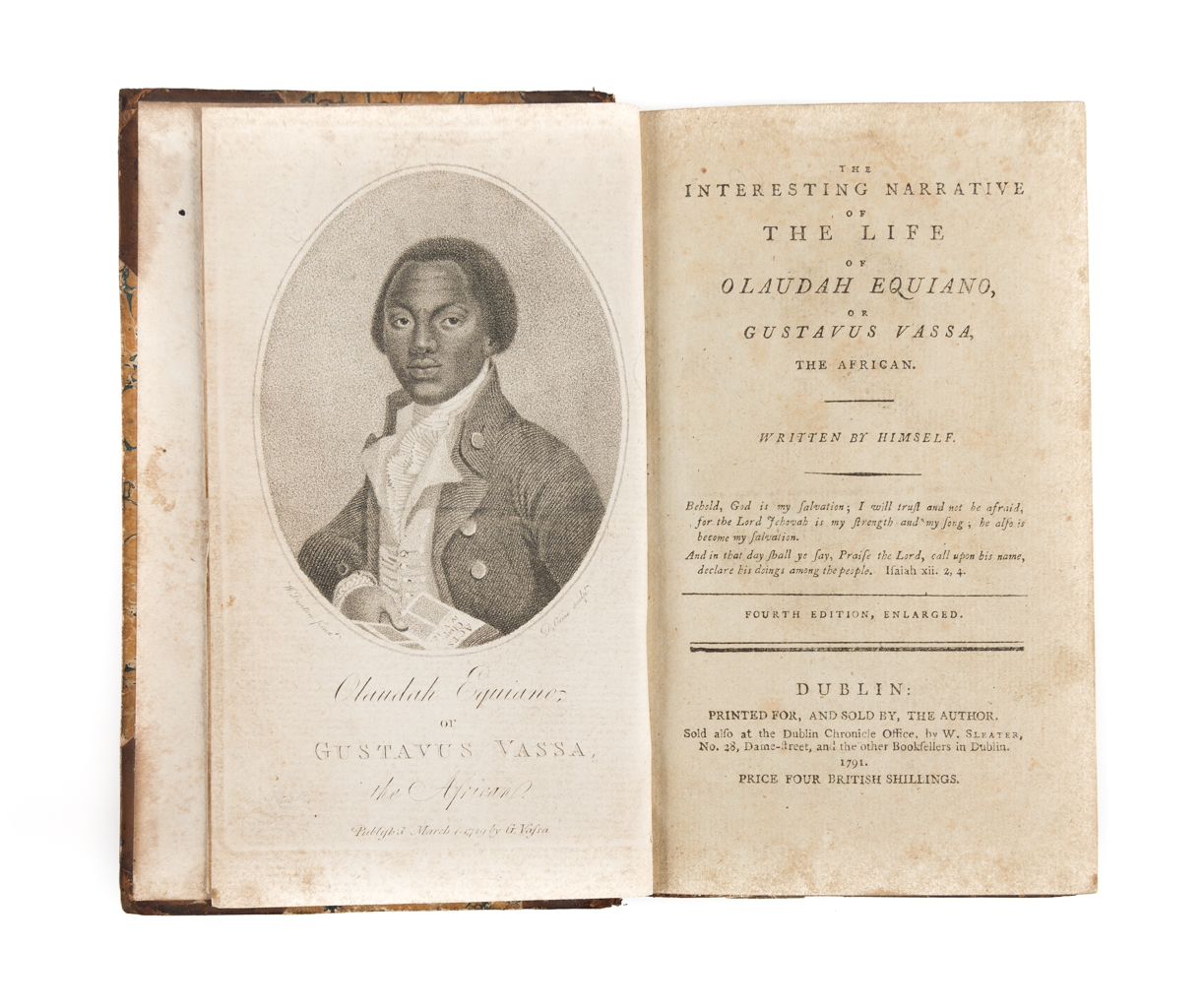Interesting Narrative of the Life of Olaudah Equiano - Dublin 1791