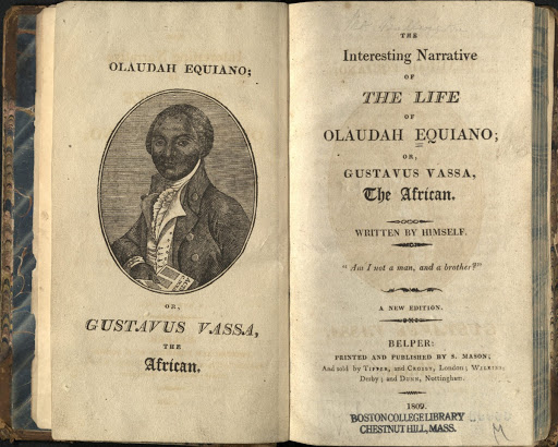 Interesting Narrative of the Life of Olaudah Equiano - Belper 1809