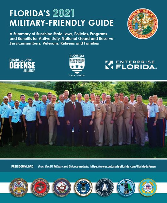 Floida's 2021 Military Friendly Guide