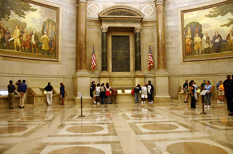 Rotunda of the National archives