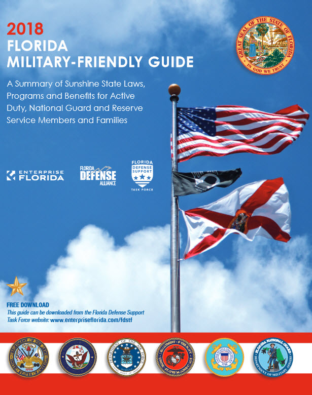 cover of 2018 Florida Military-friendly Guide