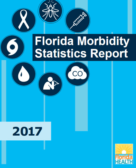 cover of 2017 Florida morbidity statistics report