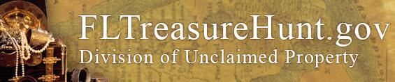 Florida Treasure Hunt, Florida Division of Unclaimed Property