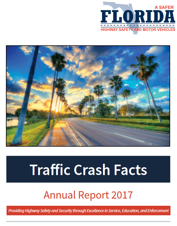 Traffic Crash Facts Annual Report 2017 cover