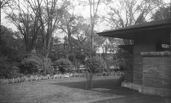 Floricycle garden and Martin House veranda