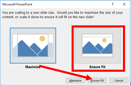 Ensure Fit in PowerPoint