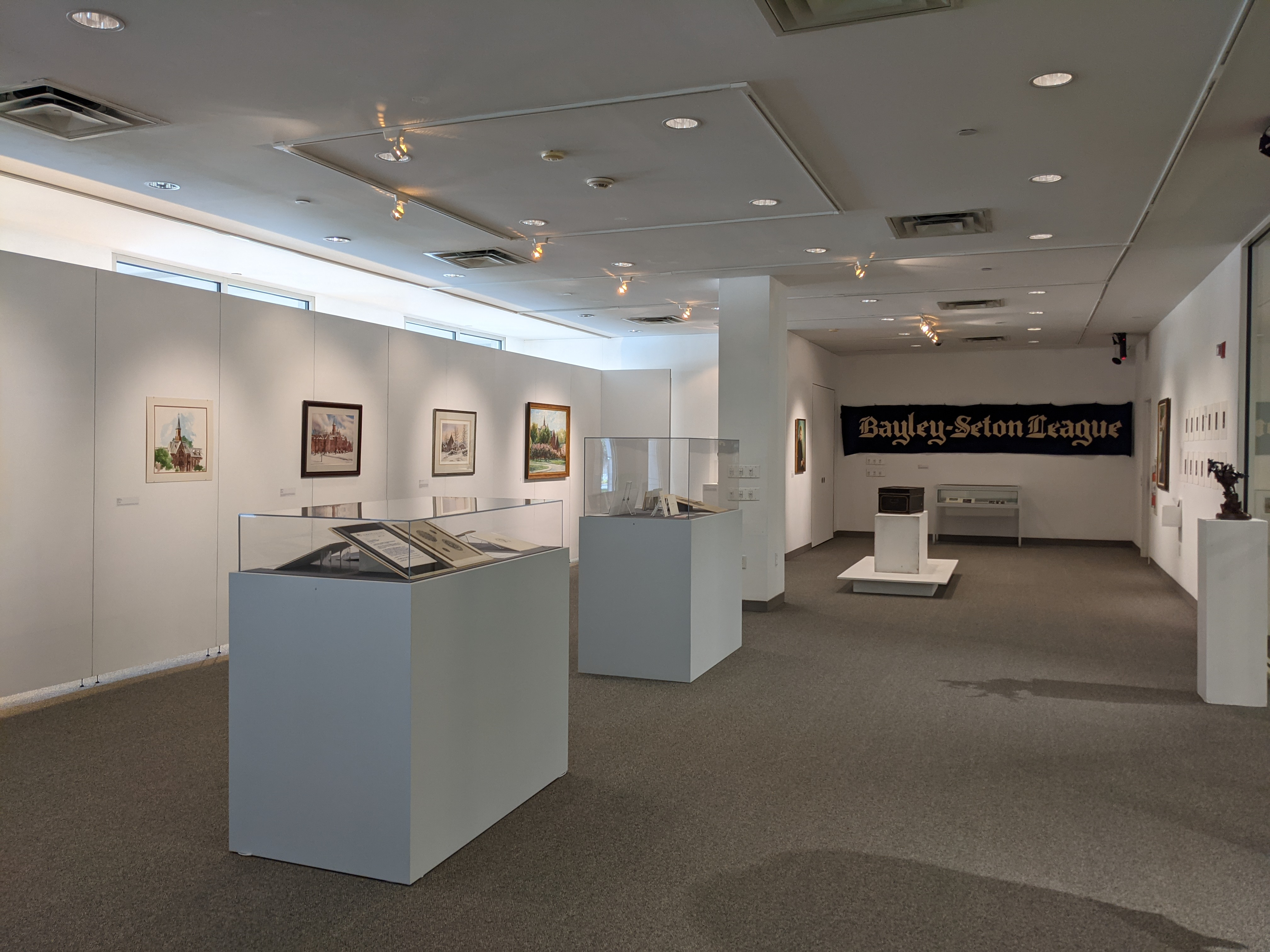 Installation image of the exhibition