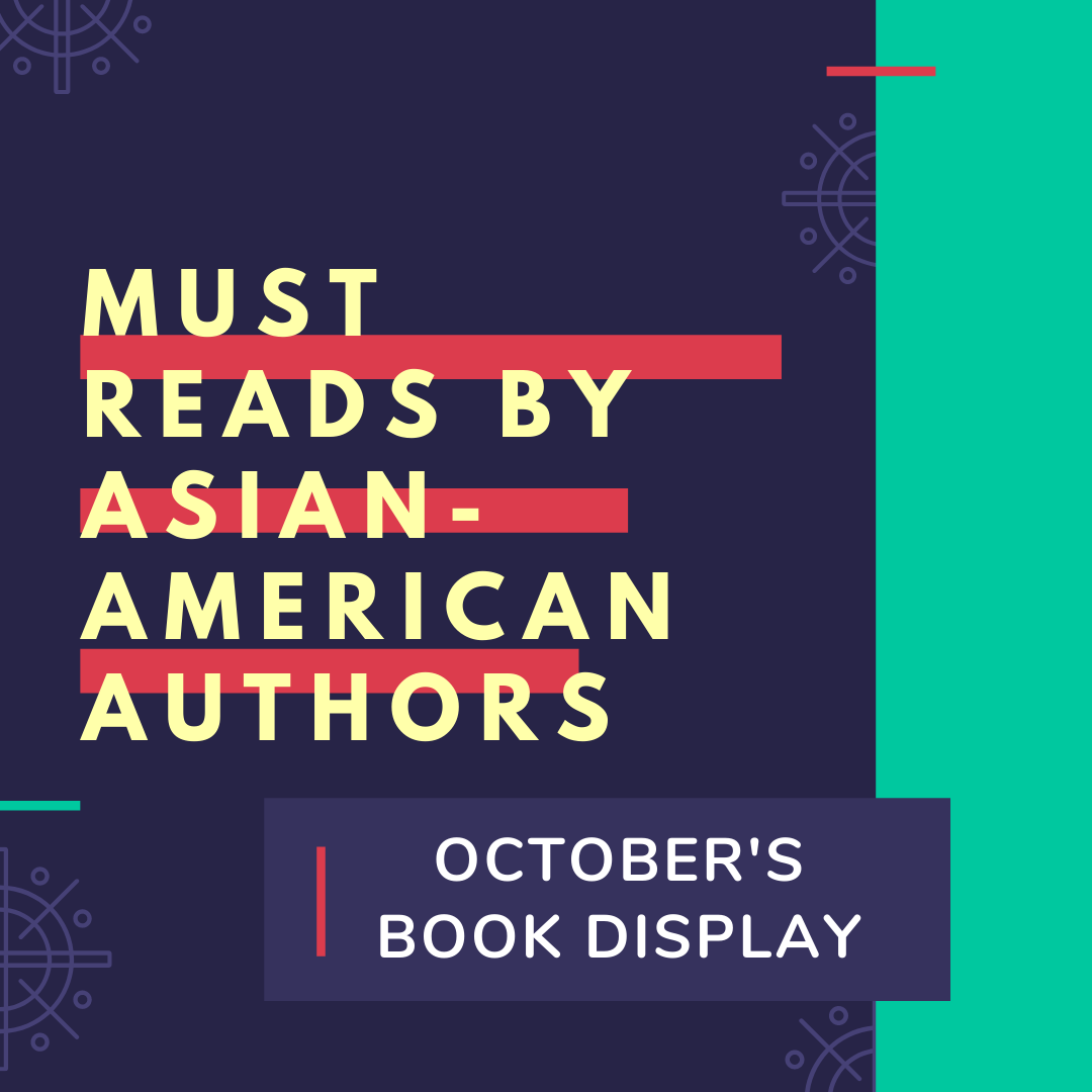 Book Display Asian-American Authors