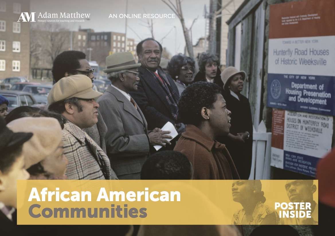 Group of African Americans on a city street