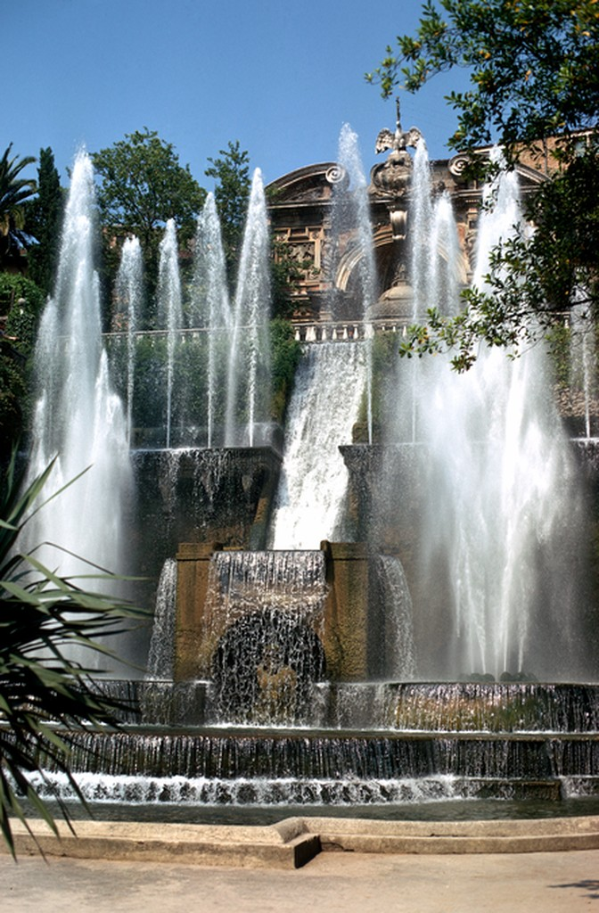 Image of the Water Organ Fountain Villa d'Este