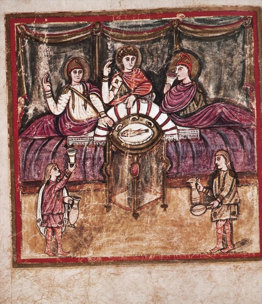 Aeneas and Dido Convivium
