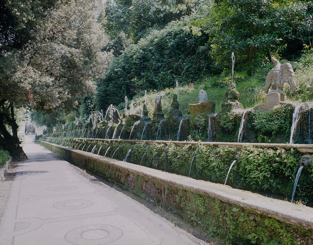 Avenue of the 100 Fountains Villa d'Este