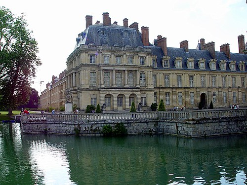 Image of chateau Fontainebleau