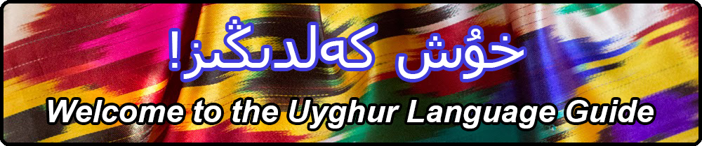 Welcome to the Uyghur Language Guide