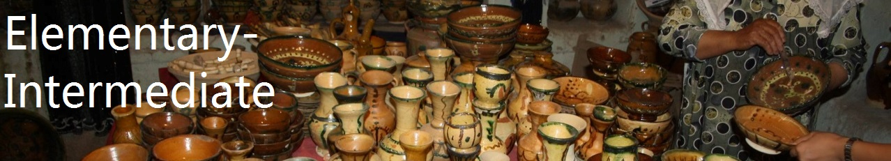Elementary-Intermediate Banner, pottery