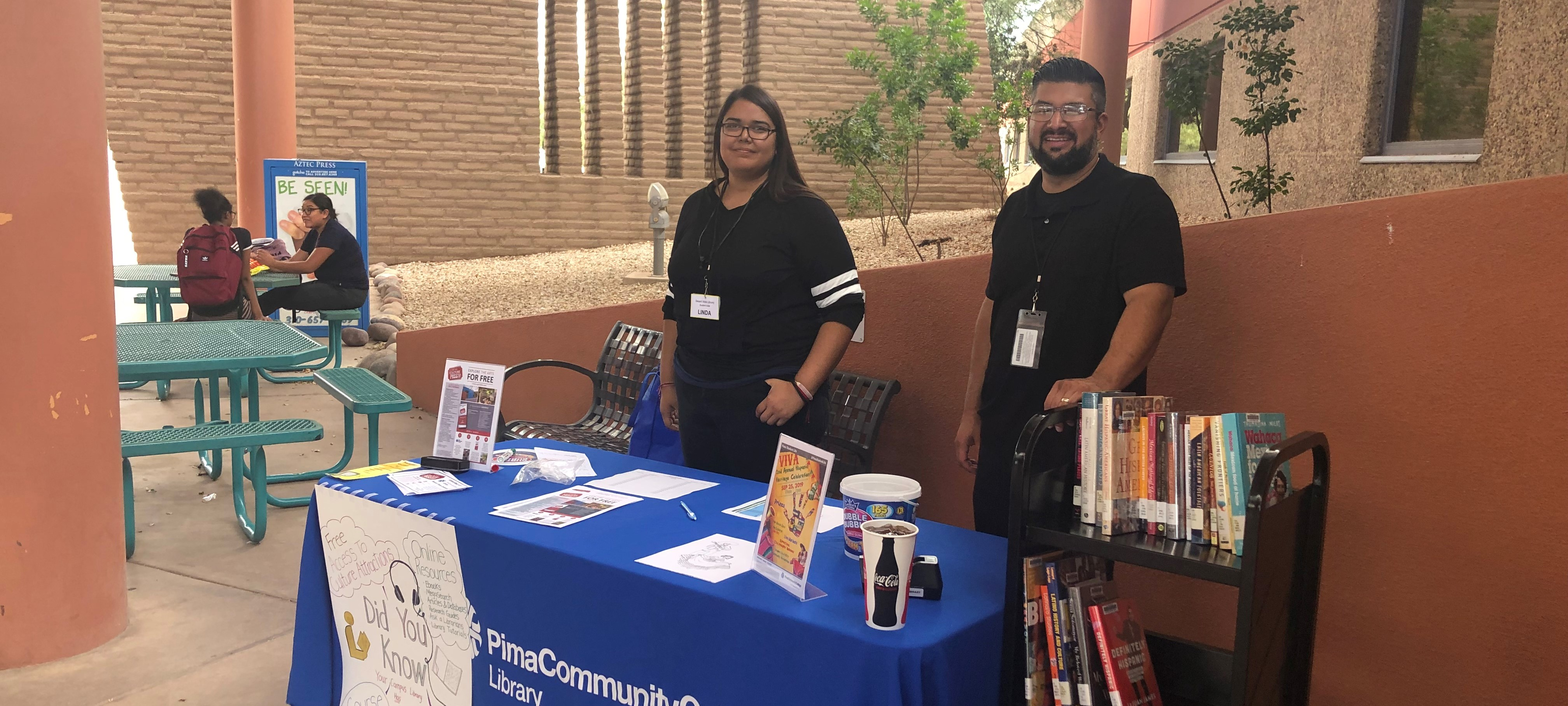 DV Library employees