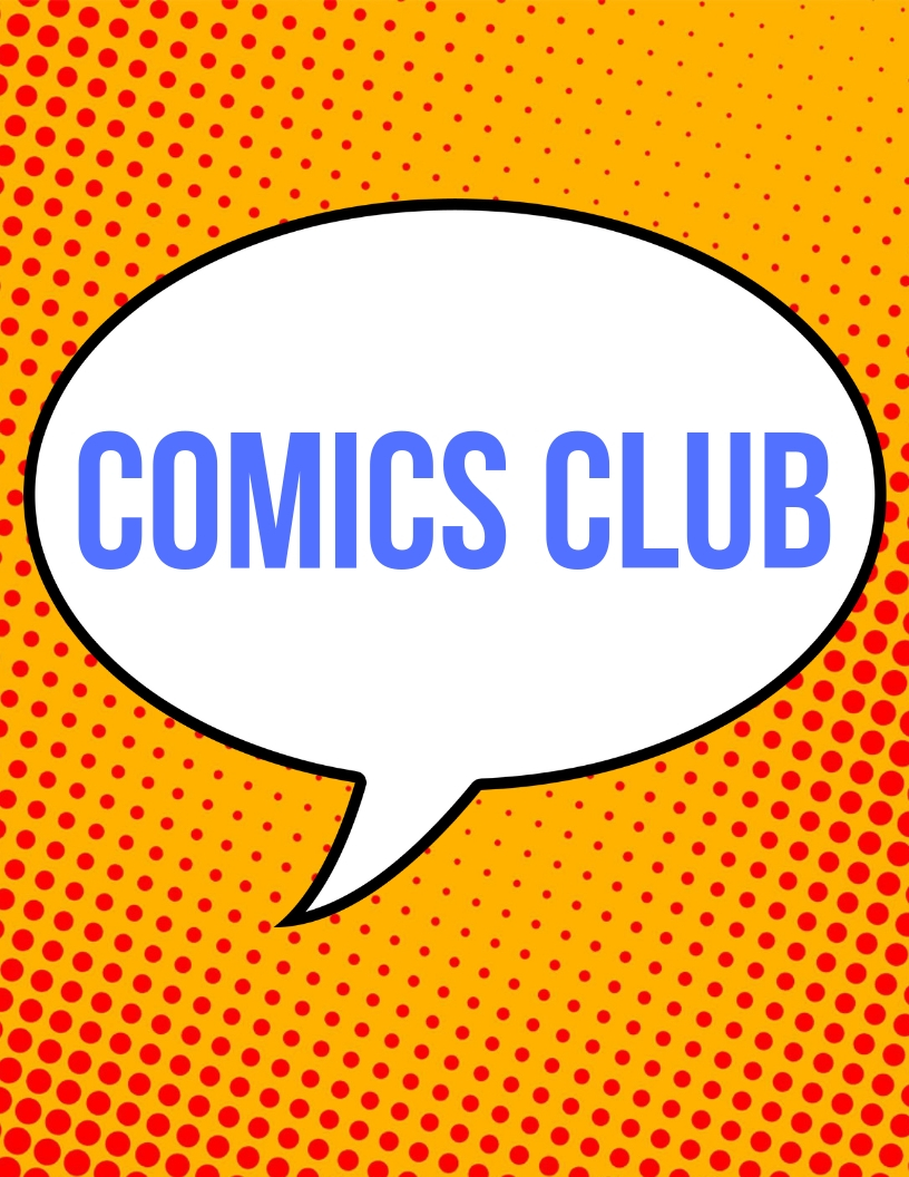 Comics Club: New Kid (Grades 3-5)