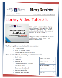 Library Newsletter_Vol 4 Issue 2_Mar 2015