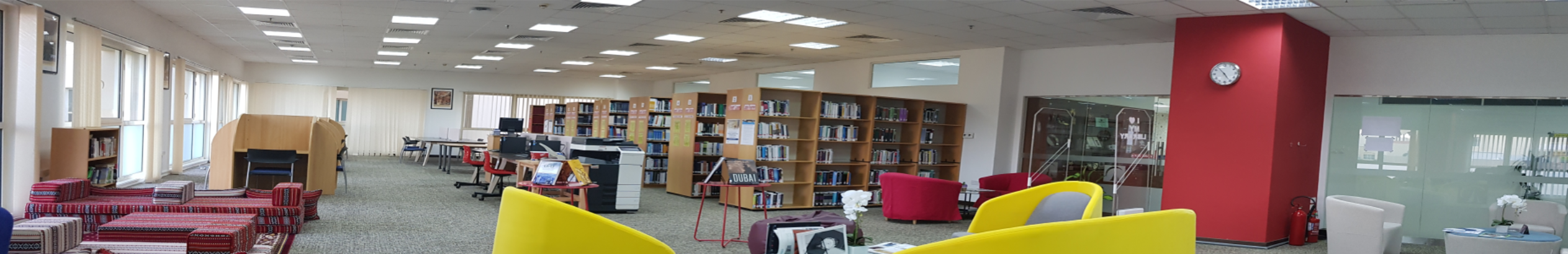 Library of the The British University in Dubai