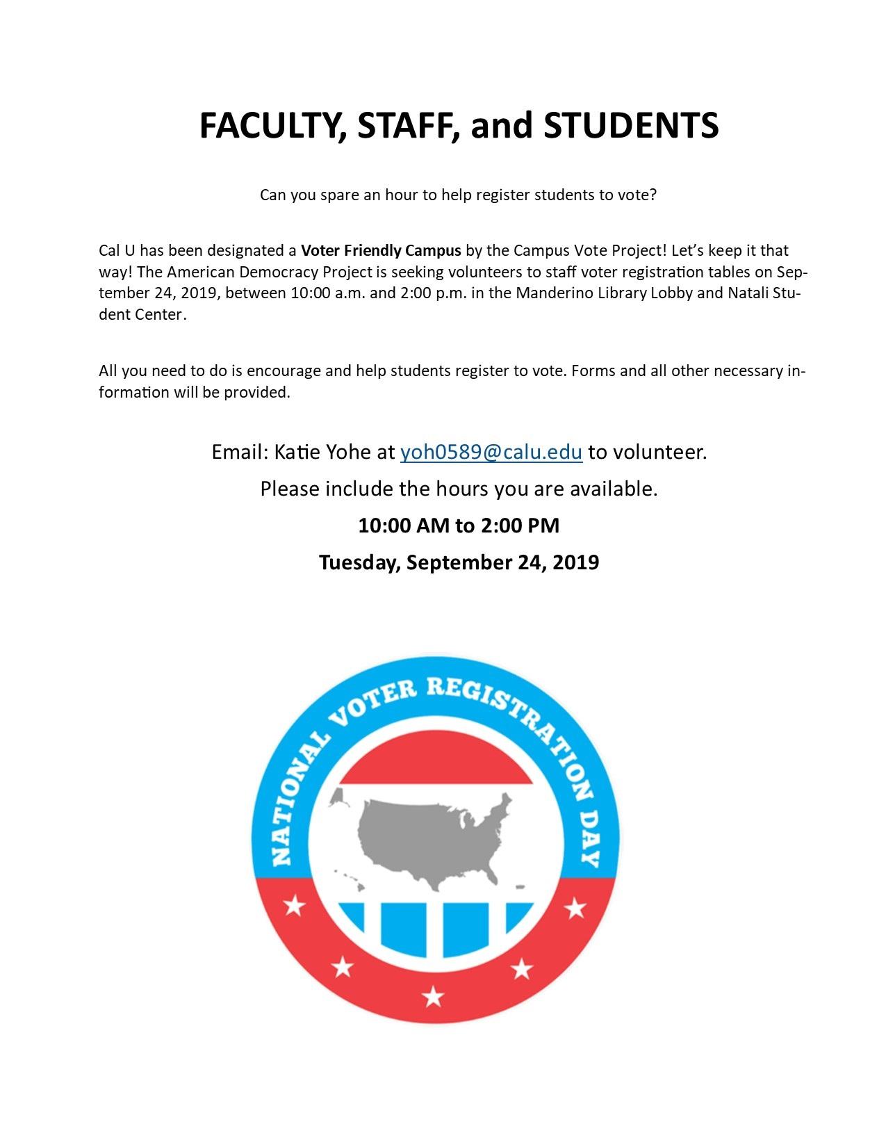 Help Us Register!