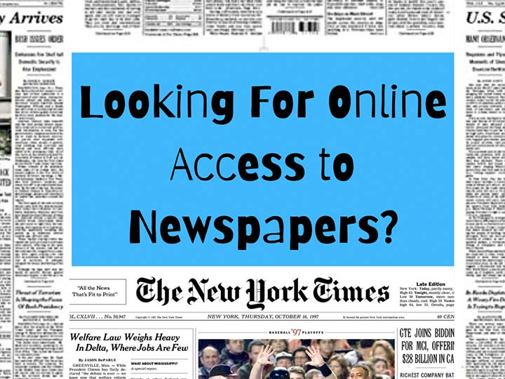 Looking For Online Access to Newspapers?  https://research.lesley.edu/NewsPapers
