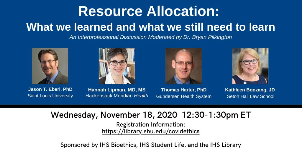 Resource allocation graphic