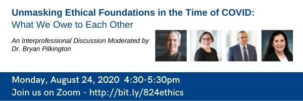 COVID ethics 8/24/2020