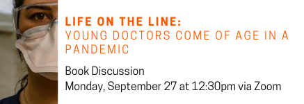 Life on the Line book discussion 9/27/2021!