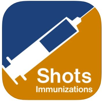 Shots Immunizations app