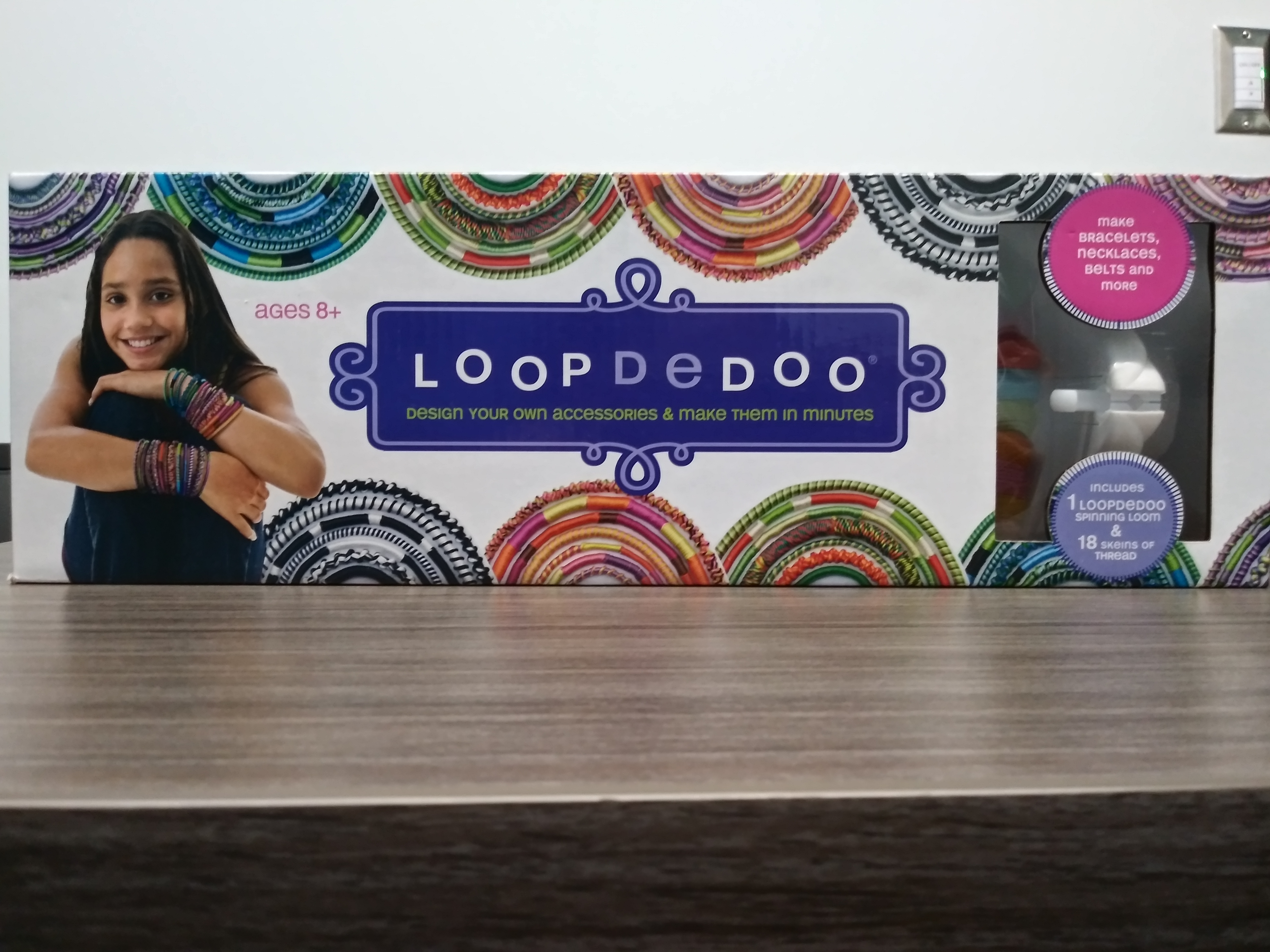 Loom Set - Loopdedoo (brand name) Make bracelets, necklaces, belts and more.