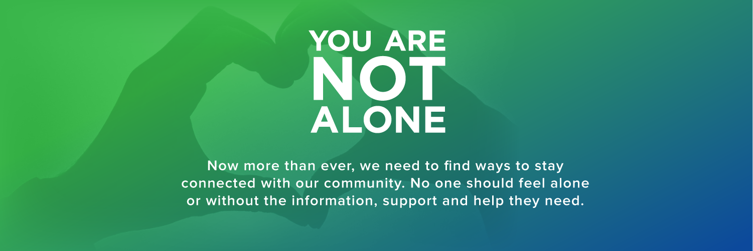 You are not alone. Click this image to connect with support for National Mental Health Awareness Month