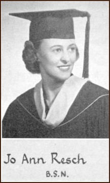 Graduation photo of JoAnn Resch McGrath