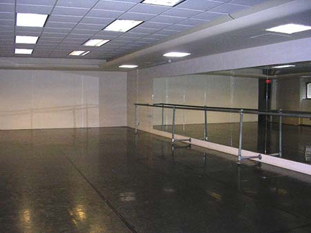 Old Dance Studio in Christopher Hall