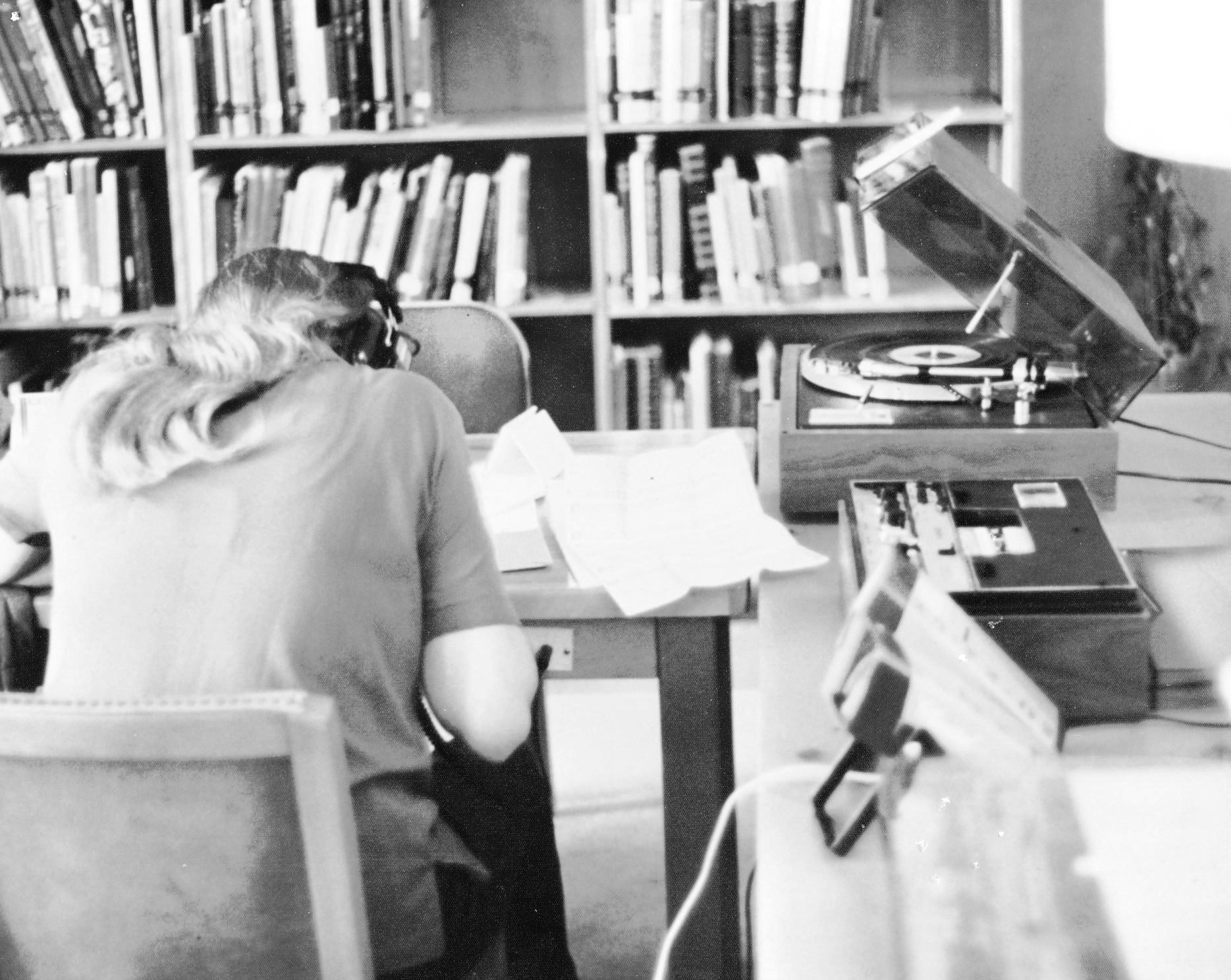 Fine Arts Lab black & white photo