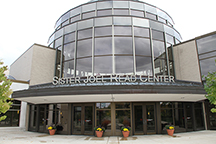 Photo of Newly renamed Joel Read Center