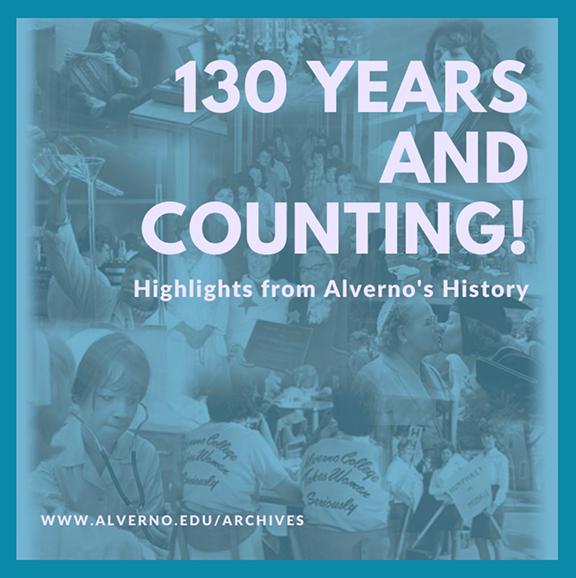 Alverno 130th Anniversary Exhibit Logo