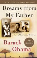 Dreams from My Father, Barak Obama