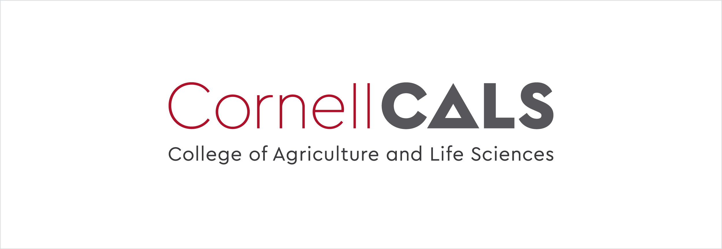 Cornell College of Agricultural and Life Sciences