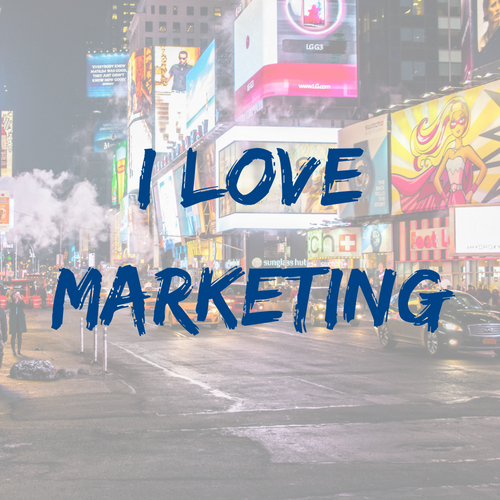I love marketing - career videos