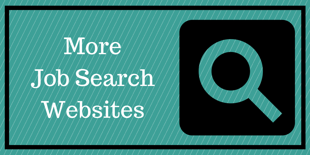 Click here to download a list of external job search websites.