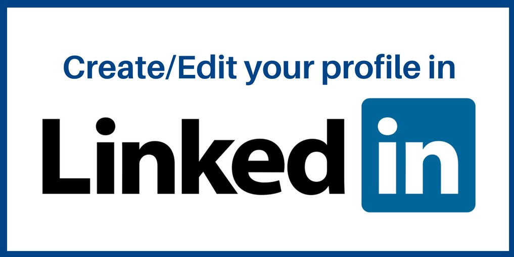 Click here to create or edit your profile on Linkedin