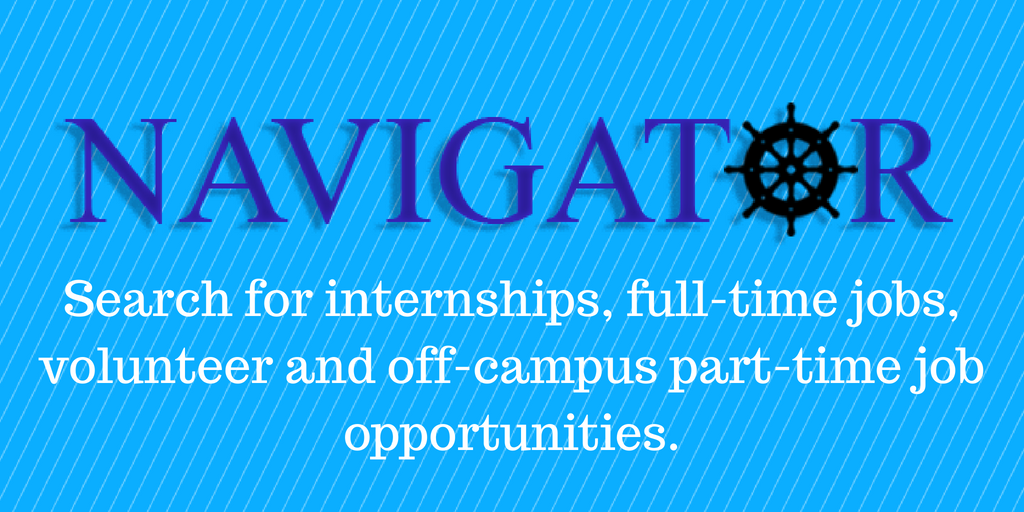 Navigator is the Seton Hall internships & jobs database.