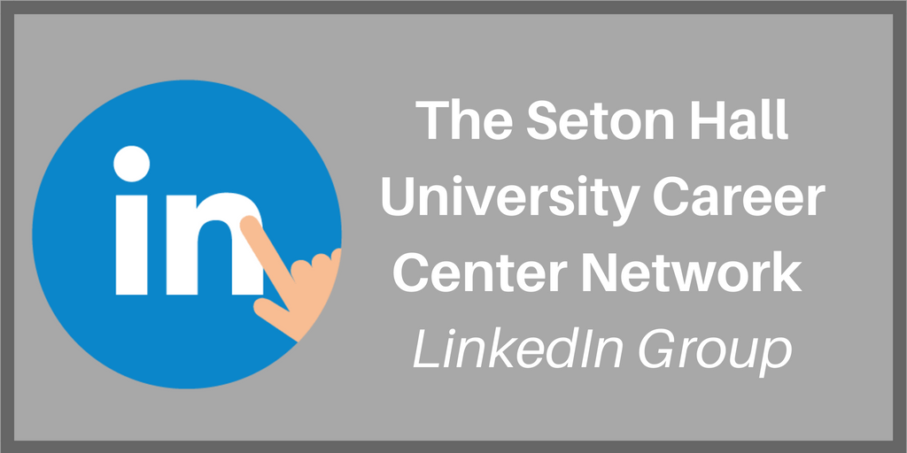 Click here to connect to the Career Center LinkedIn Group